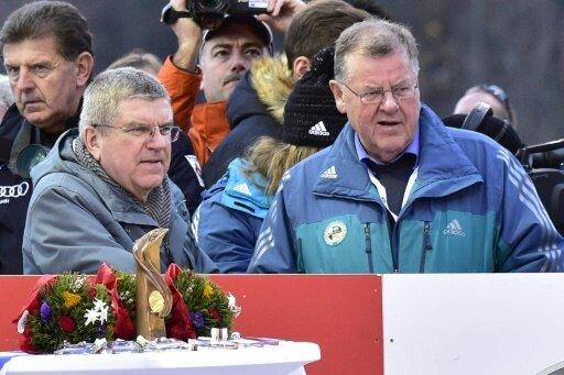 FIL-Präsident Josef Fendt (r.) ist wiedergewählt