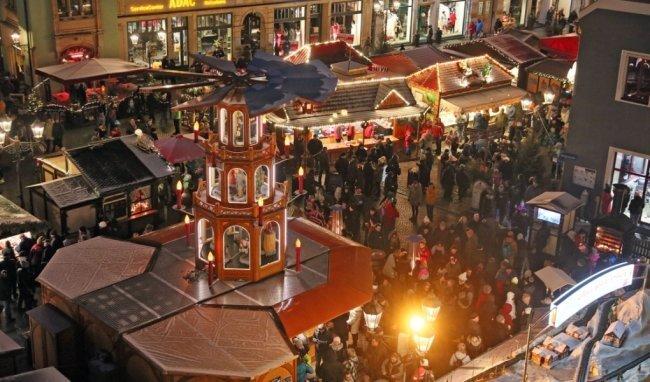 Der diesjährige Zwickauer Weihnachtsmarkt findet doch nicht statt.