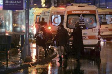 35 Tote bei Terrorangriff auf Istanbuler Nachtclub