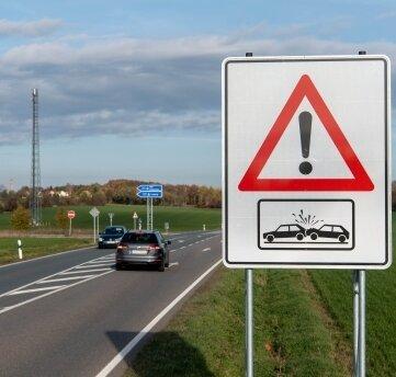 Gefragt: Am Autobahnzubringer Rochlitz wird über eine Ampel nachgedacht.