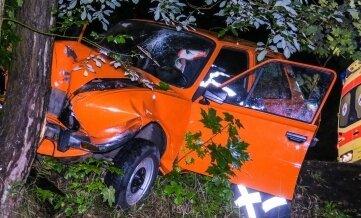 Endstation Baum: Der Skoda-Fahrer war alkoholisiert.