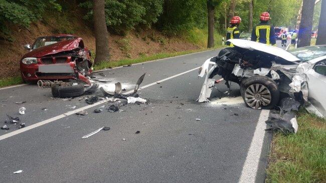 Auf der Hofer Landstraße/B 173 hat sich am Freitagnachmittag ein Unfall ereignet.