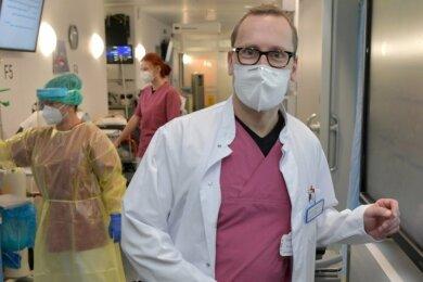 Dr. Andreas Fichner - Ärztlicher Leiter Notfall- und OP-Management im KH Freiberg