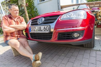 Jürgen Loth fühlte sich betrogen: Sein Golf Variant Diesel war eines der Modelle, in die VW eine Schummelsoftware installiert hatte.