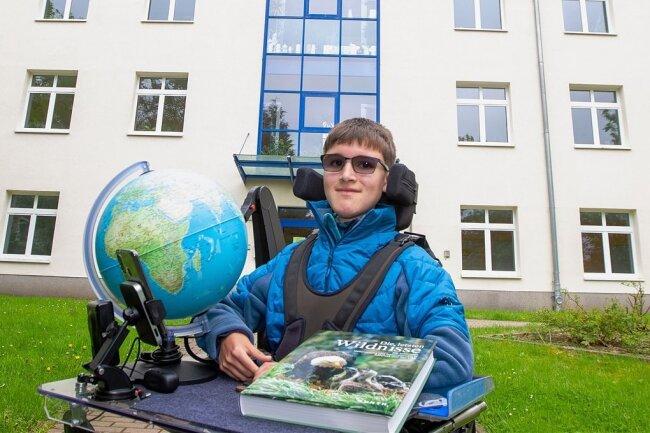 Lukas Spranger gehört zu den besten Geografieschülern Sachsens. Bei der Olympiade belegte er Platz 2.