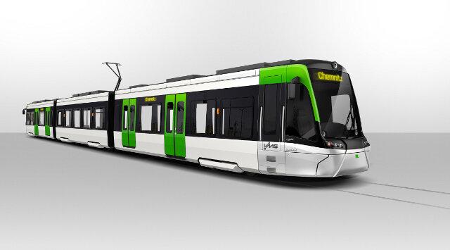 Designstudie: So ähnlich könnten die neuen Fahrzeuge für das Chemnitzer Modell aussehen.