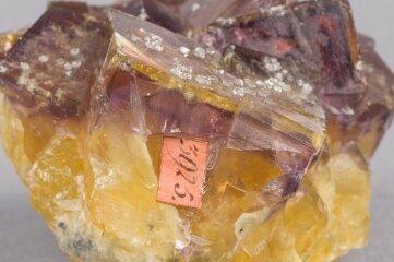 Fluorit (Flussspat) aus Annaberg.