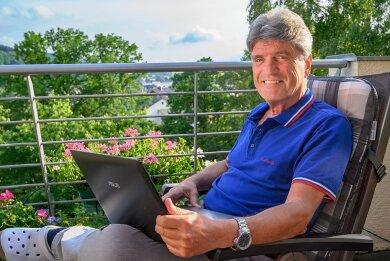 Im Unruhestand: Der ehemalige Manager Peter Werkstätter hat die Erfahrungen seines langen Berufslebens in einen ebenso spannenden wie schillernden Krimi gepackt.