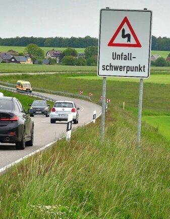 Die kurvenreiche Straße zwischen Mittweida und Rossau soll sicherer werden.