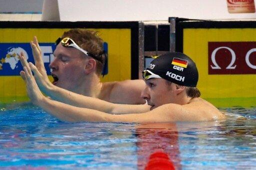 Ziel Olympia 2020: Marco Koch (r.)
