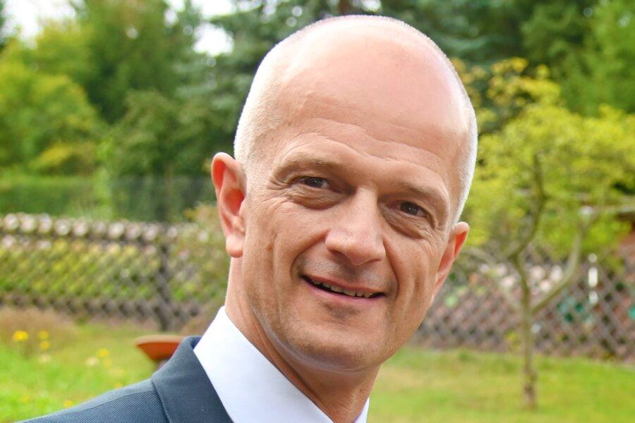 Mike Purfürst bleibt Bürgermeister von Netzschkau.