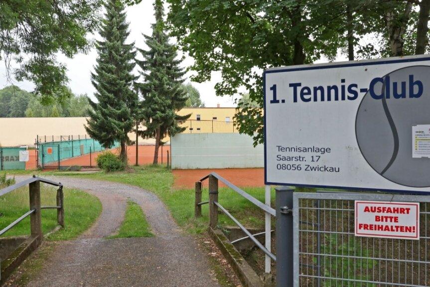 Die Tage der Tennisanlage an der Saarstraße sind gezählt.