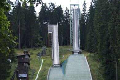 Der Ladies-Alpencup auf den Vogtlandschanzen in Mühlleithen ist abgesagt.