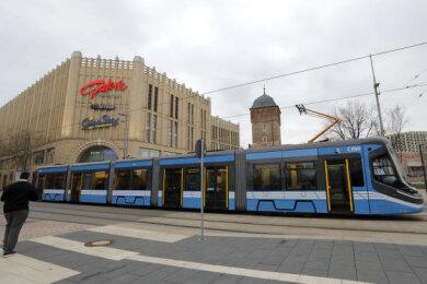 Zwischen Hauptbahnhof und Haltestelle Roter Turm herrscht die nächsten Tage Ersatzverkehr.