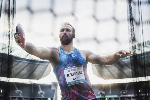 Robert Harting ist trotz seiner Verletzung optimistisch