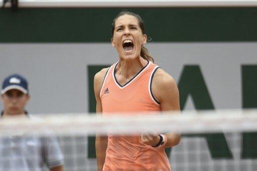 Andrea Petkovic zieht in das Viertelfinale ein