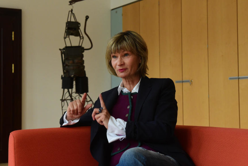 Barbara Ludwig in ihrem letzten ausführlichen Interview als Oberbürgermeisterin.