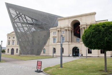 Blick auf das Militärhistorische Museum.