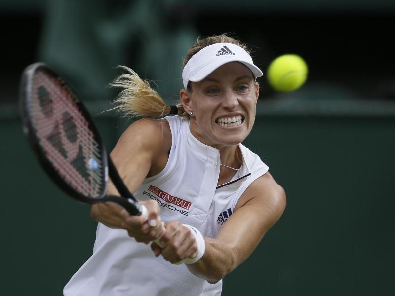 Angelique Kerber hat zum ersten Mal in ihrer Karriere das Grand-Slam-Turnier von Wimbledon gewonnen.