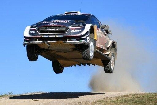 Ogier verpasste den Sieg bei der Rallye Sardinien