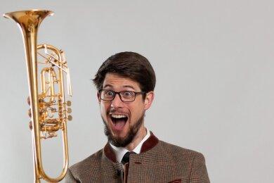Stefan Leitner, Solo-Trompeter der Mittelsächsischen Philharmonie, ist zum Sinfoniekonzert zu erleben, das am Mittwoch und Donnerstag, jeweils ab 19.30 Uhr in der Nikolaikirche Freiberg stattfindet.