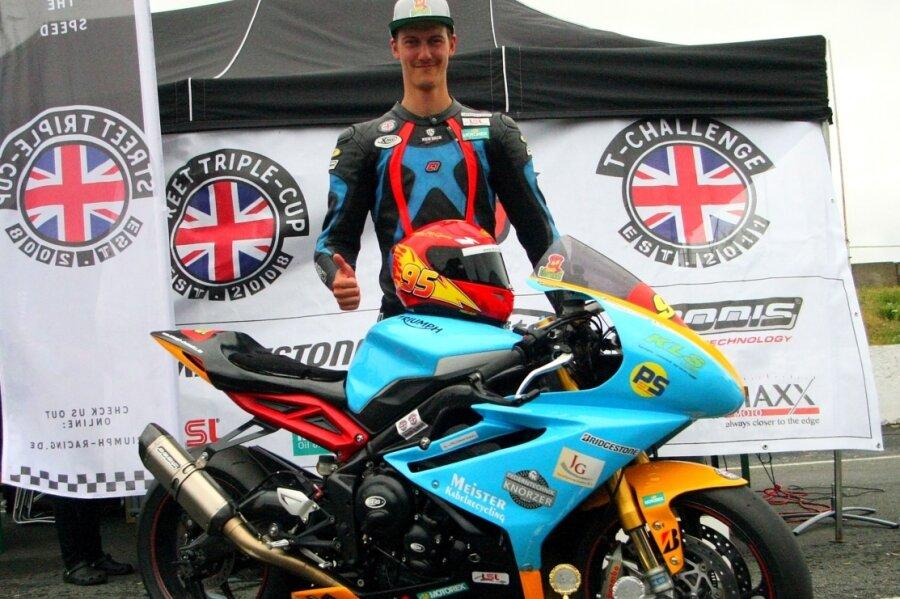 Markus Geuthner holte sich die Meisterschaft in der Triumph-Challenge.