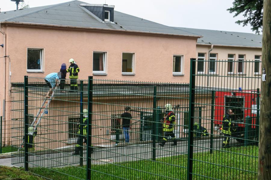 Brand in Auer Asylbewerberheim - sechs Verletzte