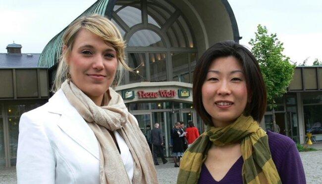 Sopranistin Anne-Theresa Albrecht (l.) und Pianistin Mizuka Kano errangen die 1. Preise des Internationalen Schumann-Wettbewerbs. Unter den männlichen Sängern wurde kein 1. Preis vergeben.