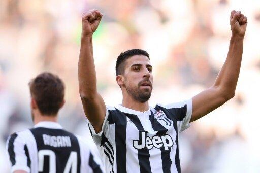 Sami Khedira trifft doppelt für Juventus Turin