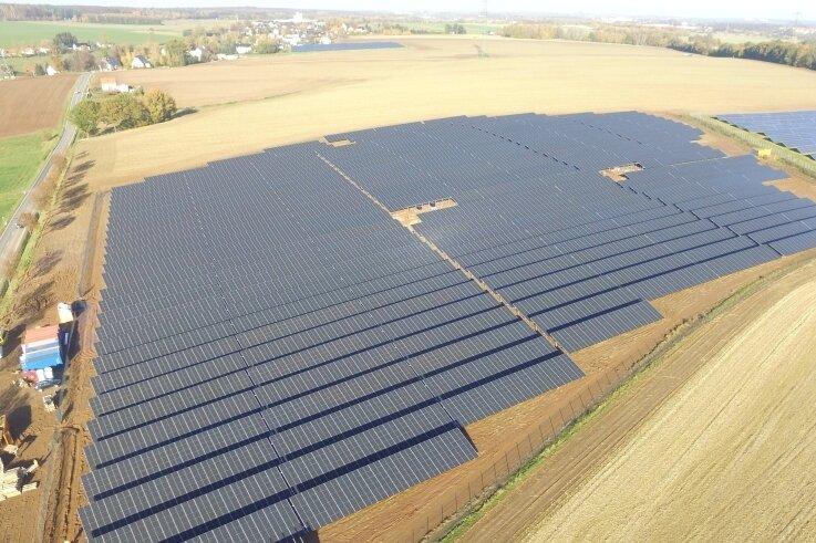 Solaranlagen wie diese in Dittersbach stellen erneuerbare Energie bereit. Das Thema bewegt Oederan.