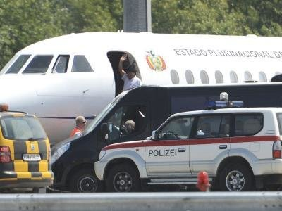 Evo Morales verlässt Wien nach seinem unfreiwilligen Zwischenstopp.