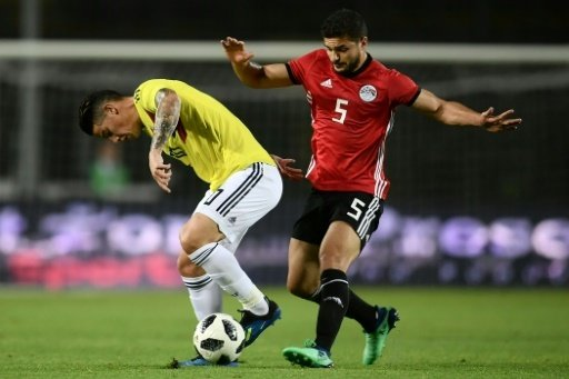 Kolumbien und Ägypten trennen sich torlos
