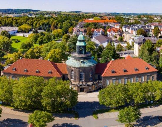 Die Kunstsammlungen Zwickau Max-Pechstein-Museum an der Lessingstraße.
