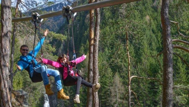An einem Edelstahlrohr vom Berg ins Tal: So könnte es ab Beginn der diesjährigen Sommerferien in Oberwiesenthal aussehen.