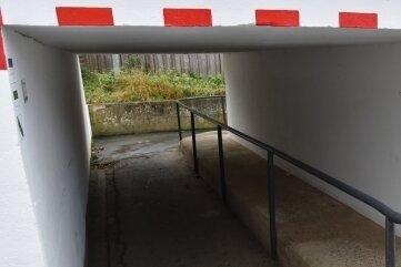 Neubau als Ersatz: Der Durchlass Finkenburg.