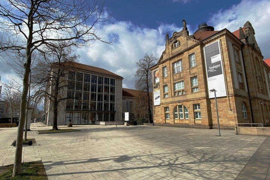Dieser Platz an der Stirnseite der Kunstsammlungen soll den Namen desNS-Opfers Arthur Weiner erhalten.