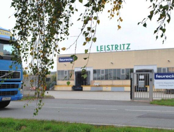 """<p class=""""artikelinhalt"""">Noch steht das Tor des Abgastechnik-Werkes Faurecia Leistritz in Pfaffenhain weit offen. Nicht mehr lange - die Firma wird zum Jahresende dicht gemacht.</p>"""
