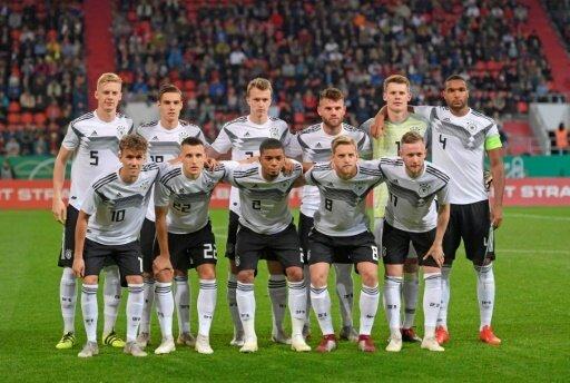 Machbare Gruppe für die deutsche U21
