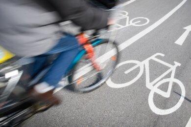 Nach der Sicherheit von Radfahrern im Verkehr in Reichenbach wird von einem Bundesverband gefragt.