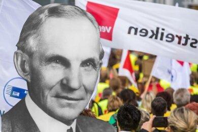 In mancher Hinsicht veränderte Henry Ford die Arbeitswelt zum Guten. Bei TTIP ist das nicht so sicher.