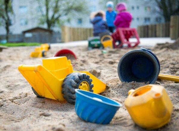 In Falkenstein sind alle Plätze für die Kinderbetreuung belegt.