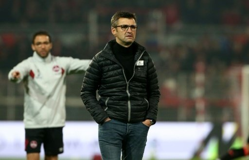 Coach Michael Köllner verlor mit Nürnberg gegen Halle