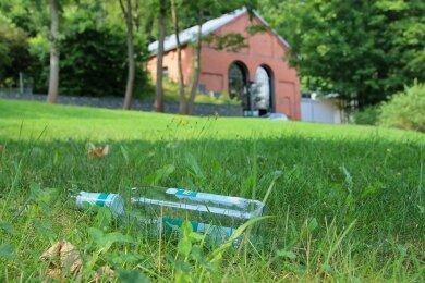 Müll und Vandalismus im Reichenbacher Park der Generationen sind zum Dauerproblem geworden.
