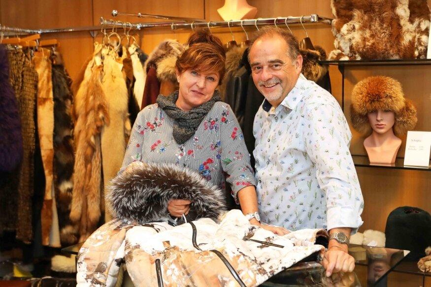 Jürgen und Ute Förster feiern das 140-jährige Bestehen ihres Geschäfts in Werdau.