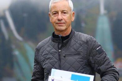 Holger Hanzlik engagiert sich als Geschäftsführer im Olympiaförderkreis Oberwiesenthal.
