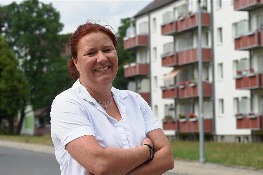 Kathleen Kuhfuß, seit 2019 Landtagsabgeordnete und Stadträtin.