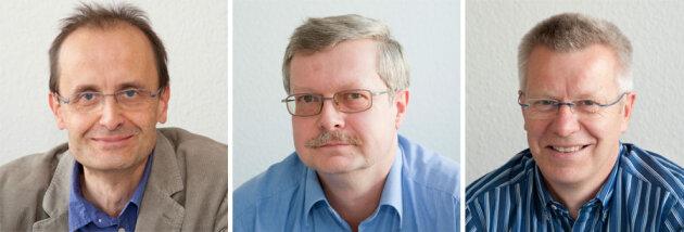 Die Experten (v.l. Dr. Stephan Albani, Dr. Thomas Breyer und Dr. Matthias Plewinsk