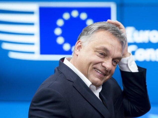 Der ungarische Ministerpräsident Viktor Orban während eines Gipfels in Brüssel.