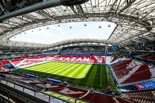 Stadion in Kasan bedeutete für drei Weltmeister das Aus