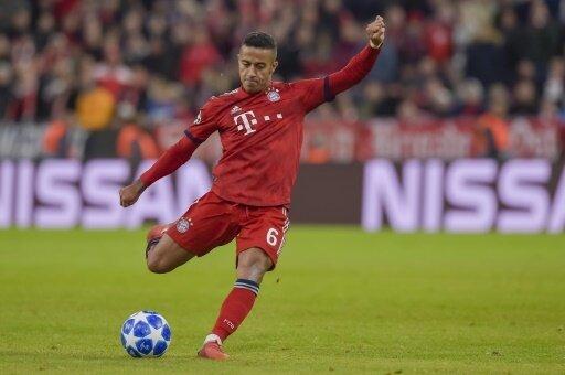Bayern München bangt um den Einsatz von Thiago